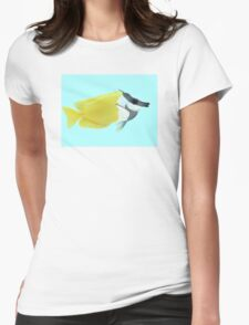 Fox-faced Rabbit Fish Womens Fitted T-Shirt
