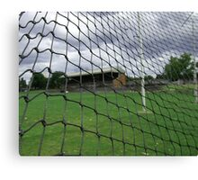 Arden street,North Melbourne, Football Ground Canvas Print