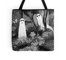 Ghosts wanting friends Tote Bag