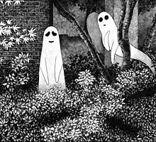 Ghosts wanting friends by Melanie Scott