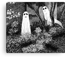 Ghosts wanting friends Canvas Print