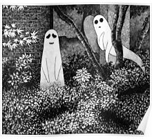 Ghosts wanting friends Poster