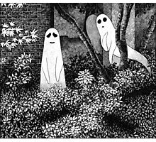 Ghosts wanting friends Photographic Print