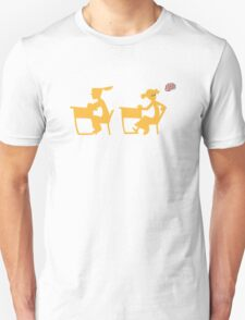 Wee-Hee (white lines) T-Shirt