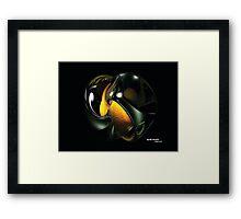 NodeGreen505 Framed Print