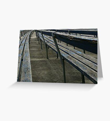 Arden street,North Melbourne, Football Ground Greeting Card