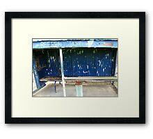 Arden street,North Melbourne, Football Ground-REEFER  STAND Framed Print