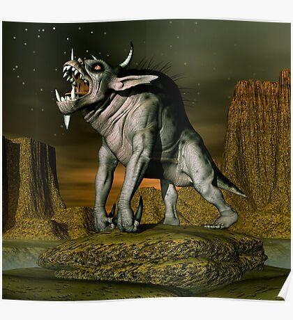 Daz Creature Poster
