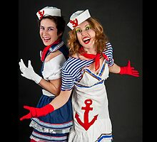 two sexy female sailors  by PhotoStock-Isra