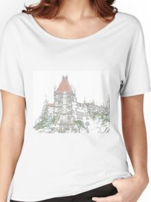 Nostalgia, Flora Fountain, Mumbai, India Women's Relaxed Fit T-Shirt