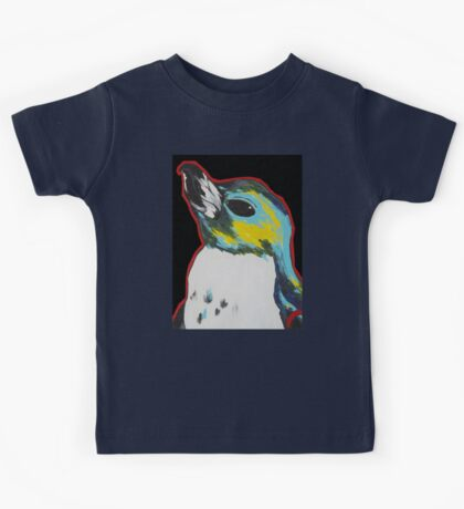 Penguin /black Kids Tee