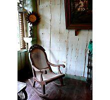 Rocking chair Photographic Print