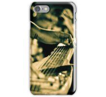Gavin Hayes Slide Guitar  iPhone Case/Skin