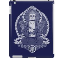Gautama Buddha White Halftone iPad Case/Skin