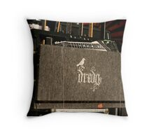 All The Instruments Are Cased Up Throw Pillow
