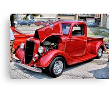 The Little red Truck Canvas Print
