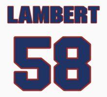 National football player Jack Lambert jersey 58 by imsport