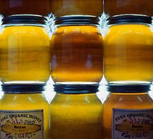 Jars of Mexican Honey by Steve Outram