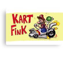 Kart Fink Big Bro! Canvas Print