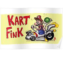 Kart Fink Big Bro! Poster