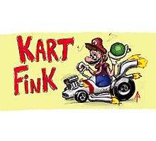 Kart Fink Big Bro! Photographic Print