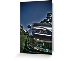 Mazda 6 Greeting Card