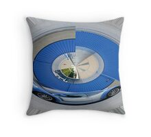 Circular Memory  Throw Pillow