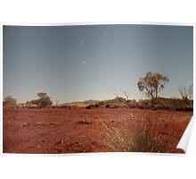 pilbara moonlit Poster