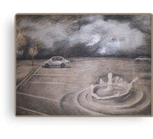 One drop Sculpture design Canvas Print