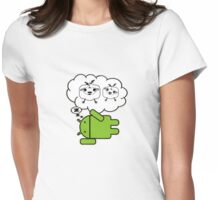 do androids dream electric sheep? Womens Fitted T-Shirt