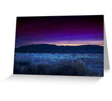 Sunrise Over The Sandia Range Greeting Card