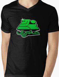 utopia interdimensional airways - green Mens V-Neck T-Shirt