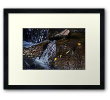 Rocky Mountain River Relaxation Framed Print