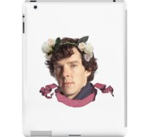 Sherlock Flowers iPad Case/Skin