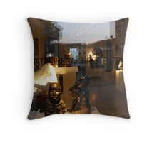 African Art Reflections Throw Pillow