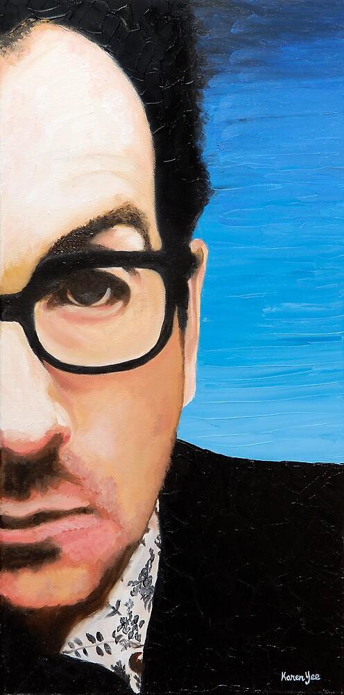 Elvis Costello by Karen Yee