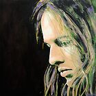 David Gilmour by KarenYeeFineArt