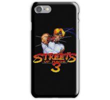 Streets of Rage 3 (Genesis) Axel iPhone Case/Skin
