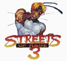 Streets of Rage 3 (Genesis) Axel One Piece - Long Sleeve