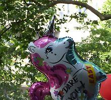 """""""I dare you"""" Unicorn by Lil-Senzel"""