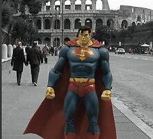 Superman Was Here!! by Omar  Mejia