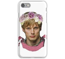 Arthur Pendragon Floral  iPhone Case/Skin
