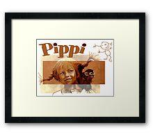 Pippi Longstocking - the fan version Framed Print