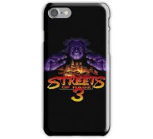 Streets of Rage 3 (Genesis) Mr. X iPhone Case/Skin