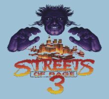 Streets of Rage 3 (Genesis) Mr. X Kids Tee