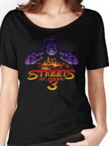 Streets of Rage 3 (Genesis) Mr. X Women's Relaxed Fit T-Shirt