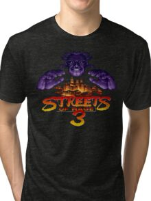 Streets of Rage 3 (Genesis) Mr. X Tri-blend T-Shirt