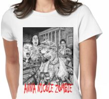 Anna Nicole Zombie Womens Fitted T-Shirt