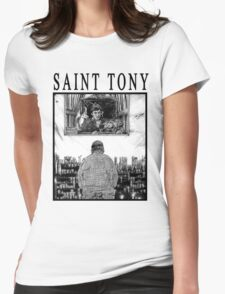 Saint Tony Womens Fitted T-Shirt