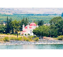 Israel, Galilee, Capernaum, the Greek Orthodox Church Photographic Print